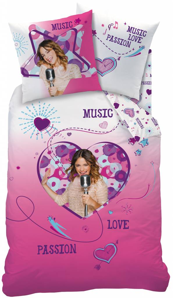 Dekbedovertrek Violetta Roze Disney Aanbieding Kopen