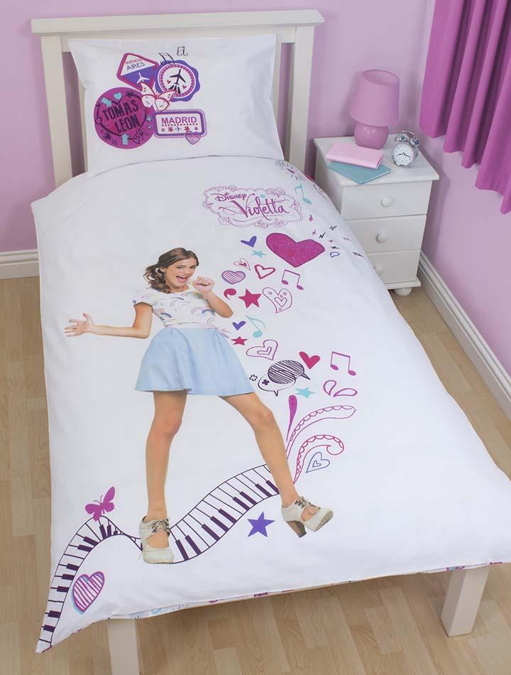 Disney Violetta Musiclovepassion Dekbedovertrek 140×200 Cm Disney Violetta Aanbieding Kopen