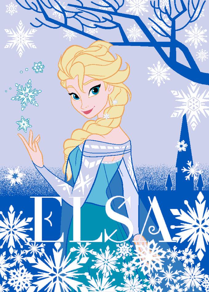 Frozen Vloerkleed Elsa