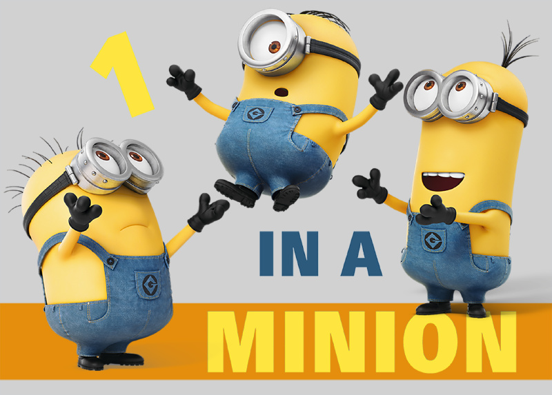 Minions Vloerkleed Despicable Me