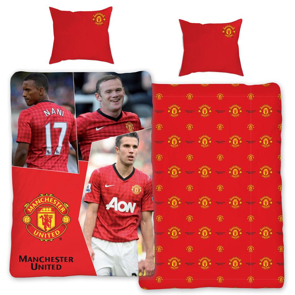 Manchester Overtrek Robin van Persie, Nani en Rooney