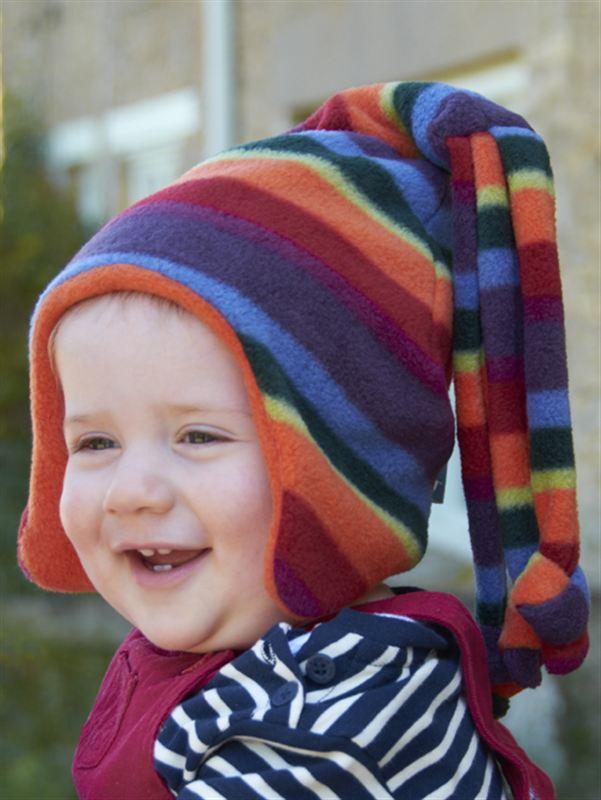 Buggy Snuggle Kindermuts Warm Stripe Loopy M