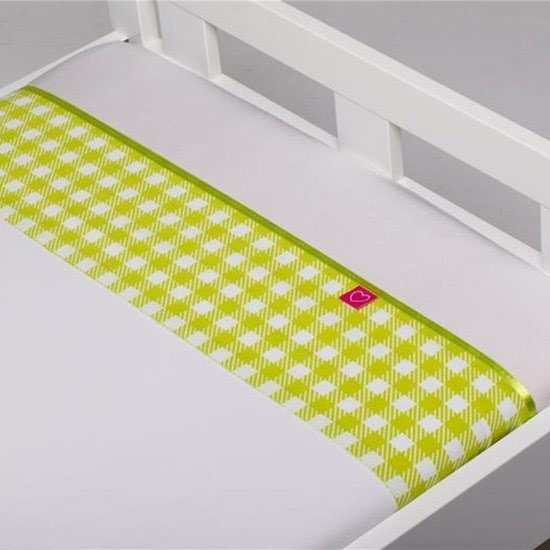 Laken Abby Lime 100x150cm (Briljant Kids)