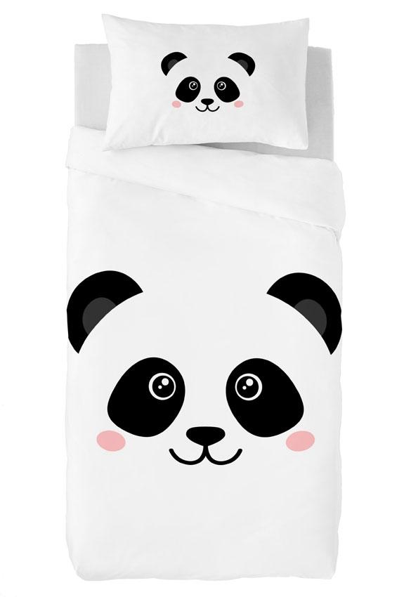 Zavelo Dekbedovertrek Pandabeer