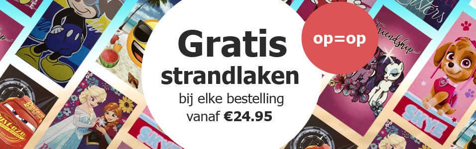 Gratis Strandlaken