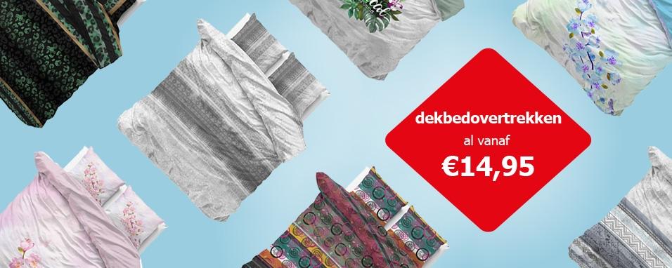 dekbedovertrekken al avanf €14,95