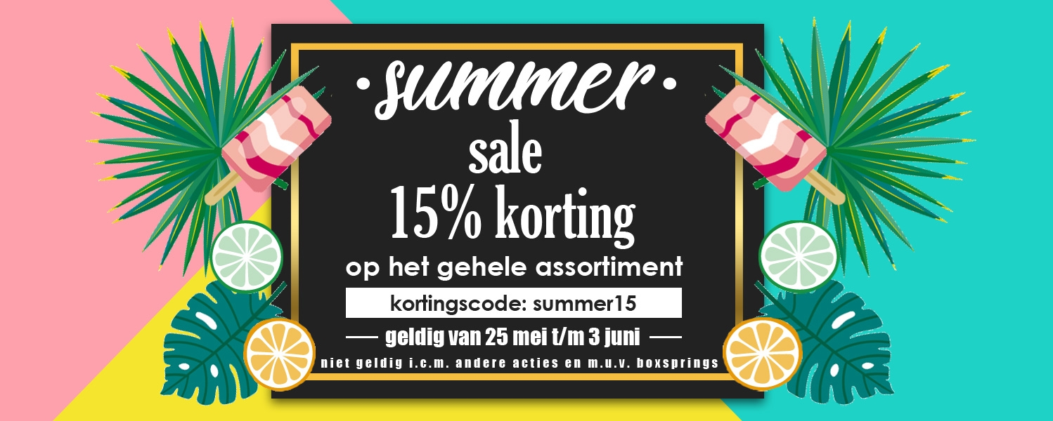 Summer sale beddengoed.com