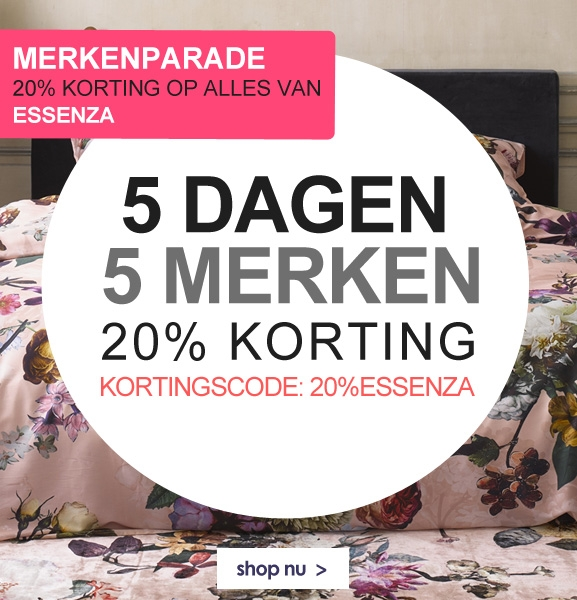 20% korting Essenza